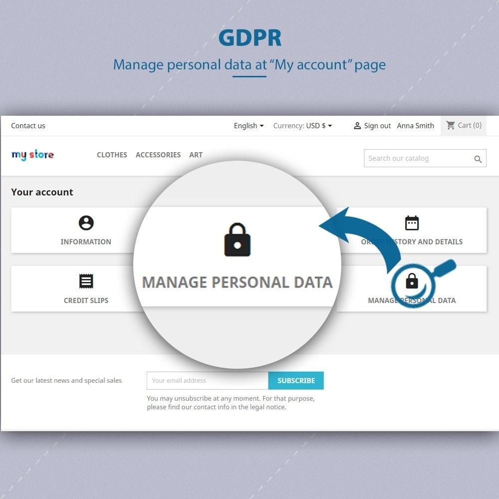 module - Legale (Legge Europea) - GDPR Compliance - EU Cookies Law Banner - 6