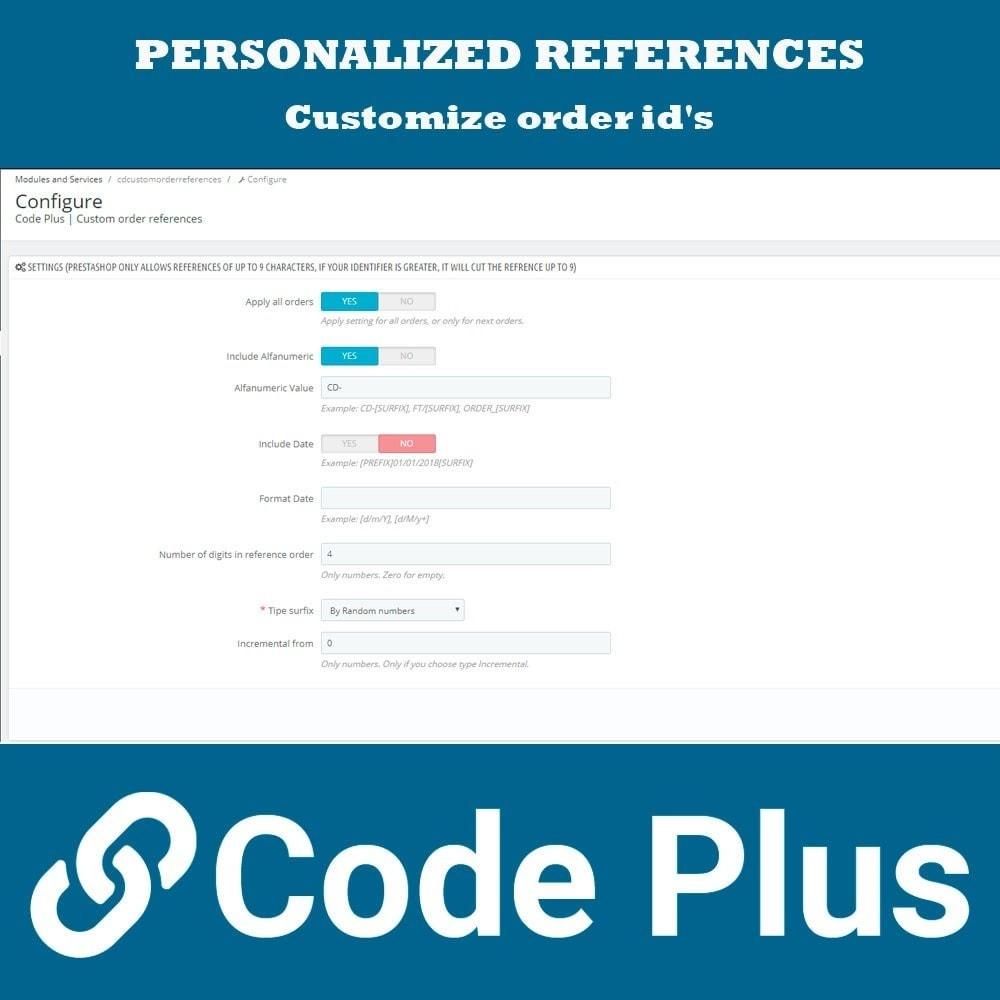 module - Orderbeheer - Custom order references - 2