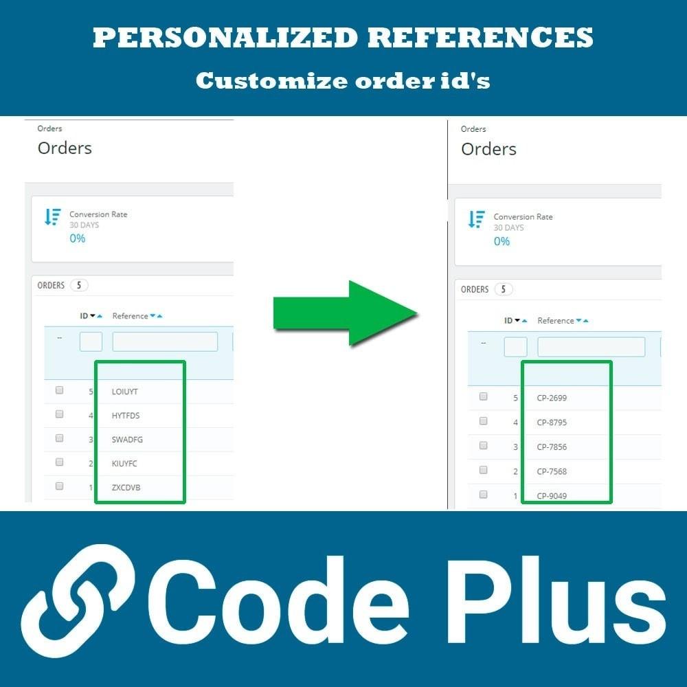 module - Orderbeheer - Custom order references - 3