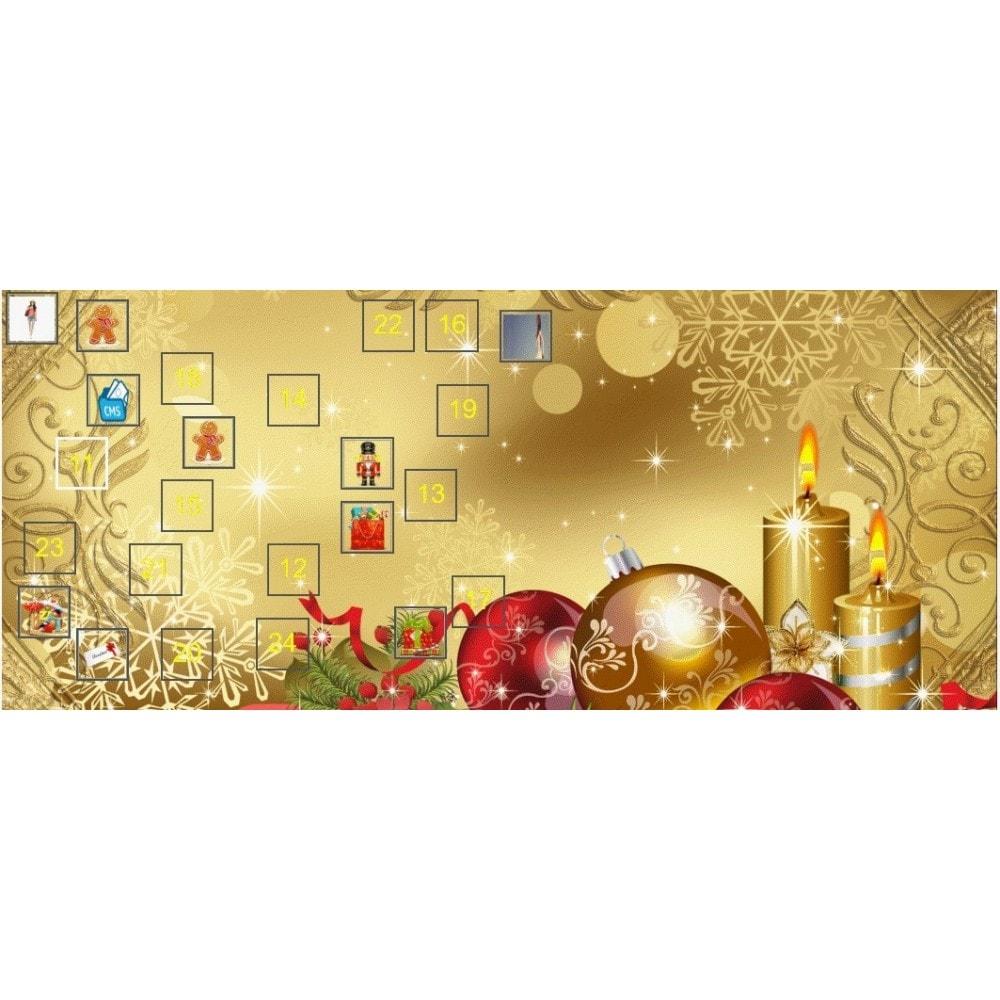 module - Promociones y Regalos - Xmas Advent Calendar - 1