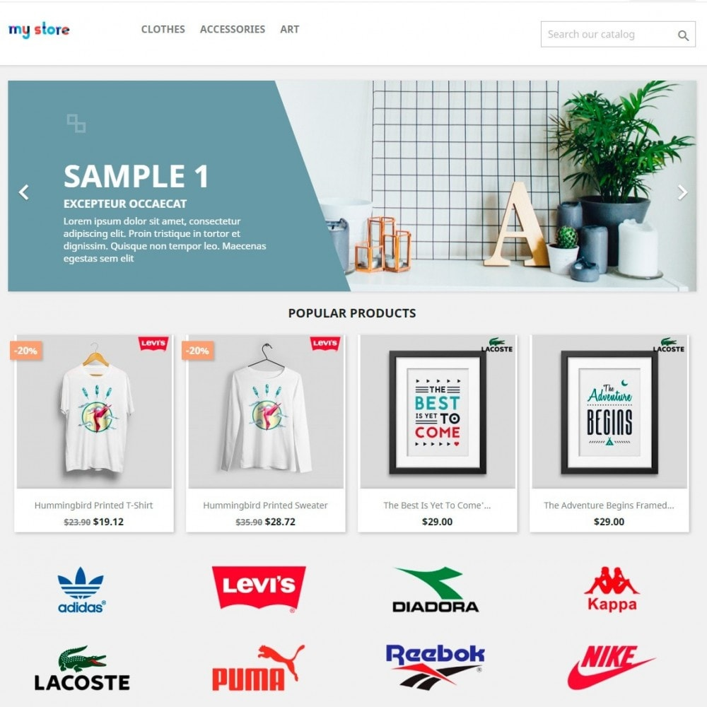 module - Marcas y Fabricantes - Partners Manufacturers Brand Logo Slider & Gallery - 3