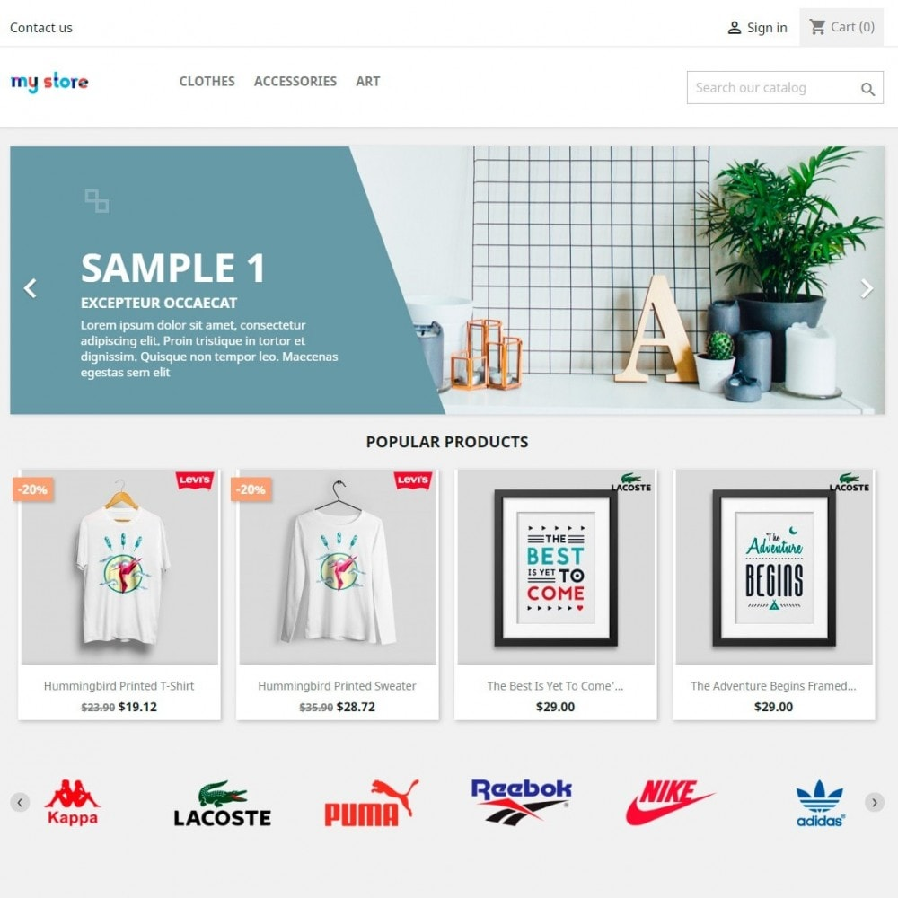 module - Marcas y Fabricantes - Partners Manufacturers Brand Logo Slider & Gallery - 2