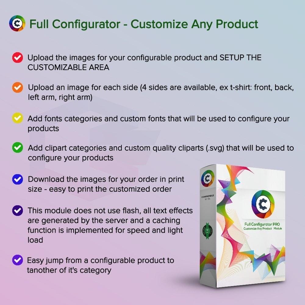 module - Combinazioni & Personalizzazione Prodotti - Full Configurator PRO - Customize Any Product - 1