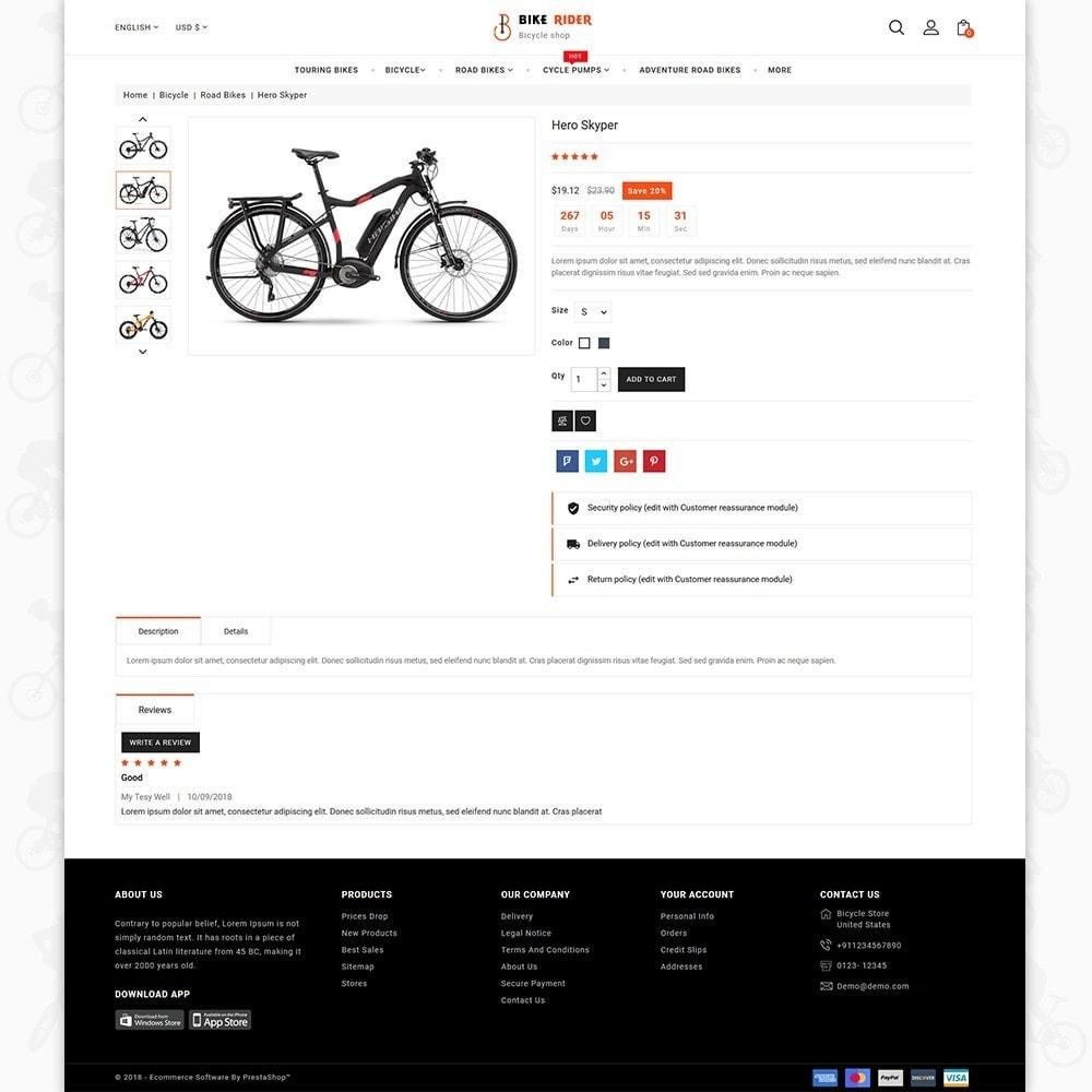 theme - Sport, Activiteiten & Reizen - Bike Ryder - Bike Shop & Bicycle Rental Shop - 8