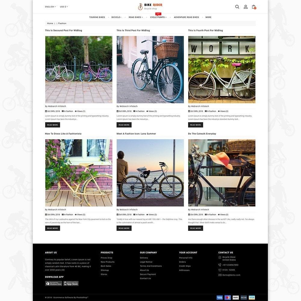 theme - Sport, Activiteiten & Reizen - Bike Ryder - Bike Shop & Bicycle Rental Shop - 9