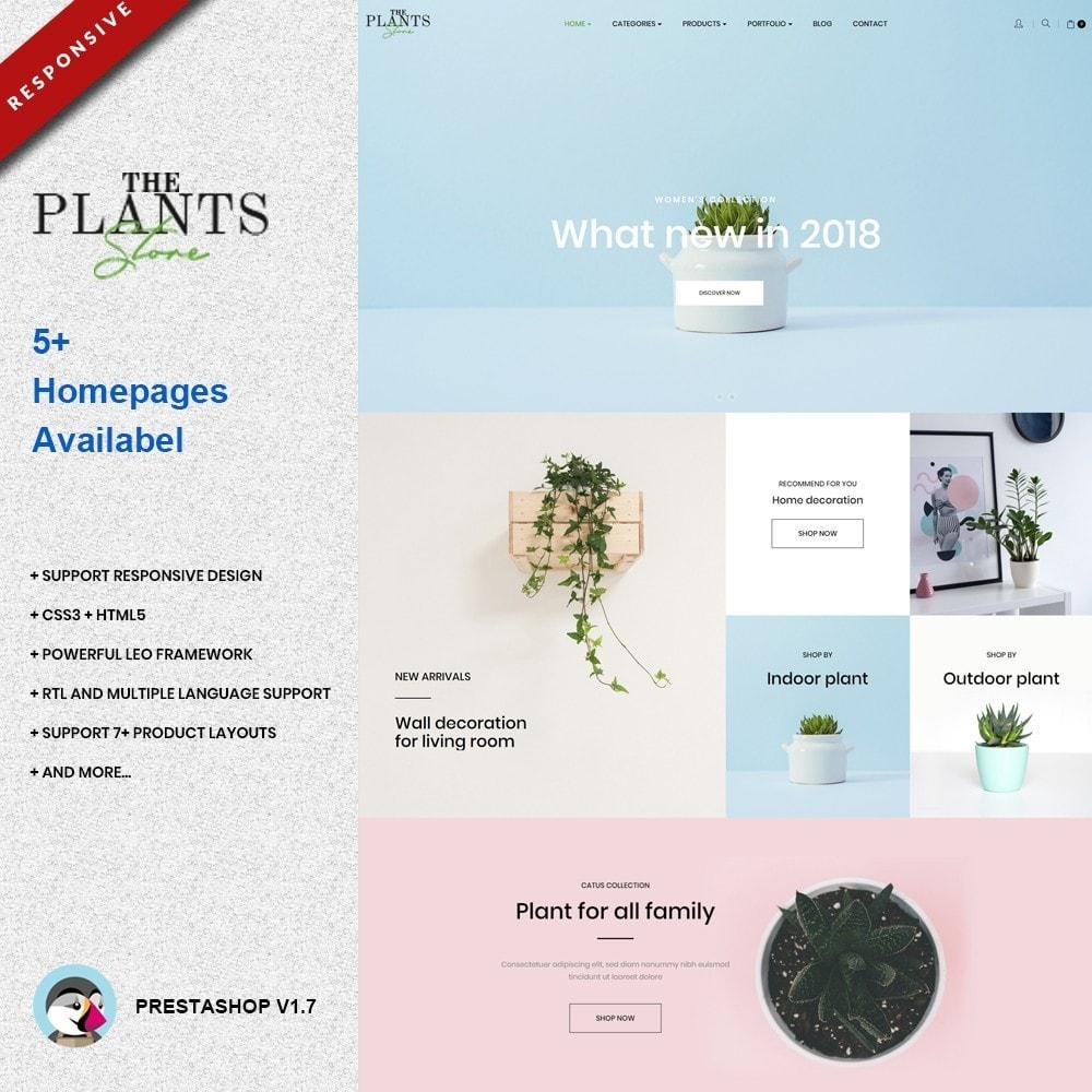 theme - Dom & Ogród - Plant Store - Gardening & Houseplants - 1