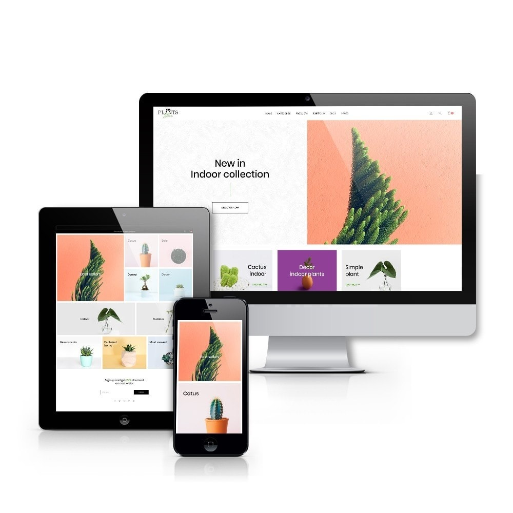 theme - Dom & Ogród - Plant Store - Gardening & Houseplants - 9