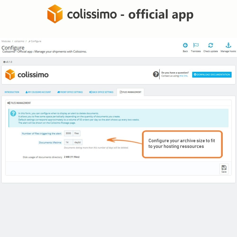 module - Transportadoras - Colissimo - Official app: your shipments with Colissimo - 9