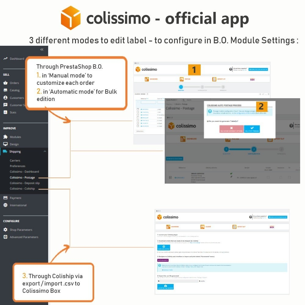 module - Transportadoras - Colissimo - Official app: your shipments with Colissimo - 11
