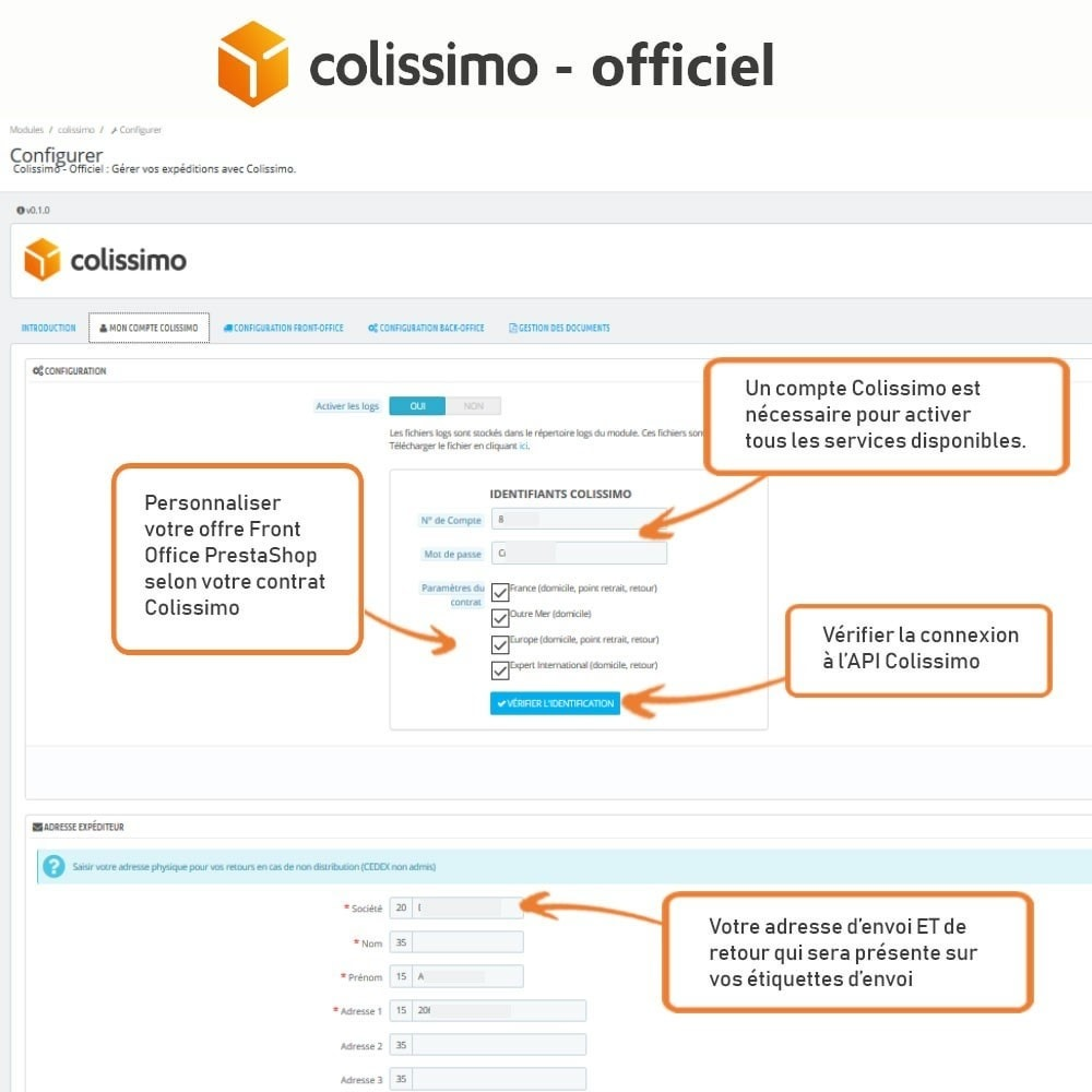 module - Transporteurs - Colissimo - Officiel : vos expéditions avec Colissimo - 4