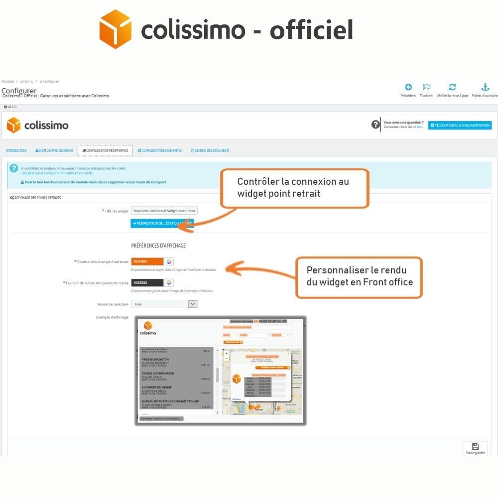 module - Transporteurs - Colissimo - Officiel : vos expéditions avec Colissimo - 5