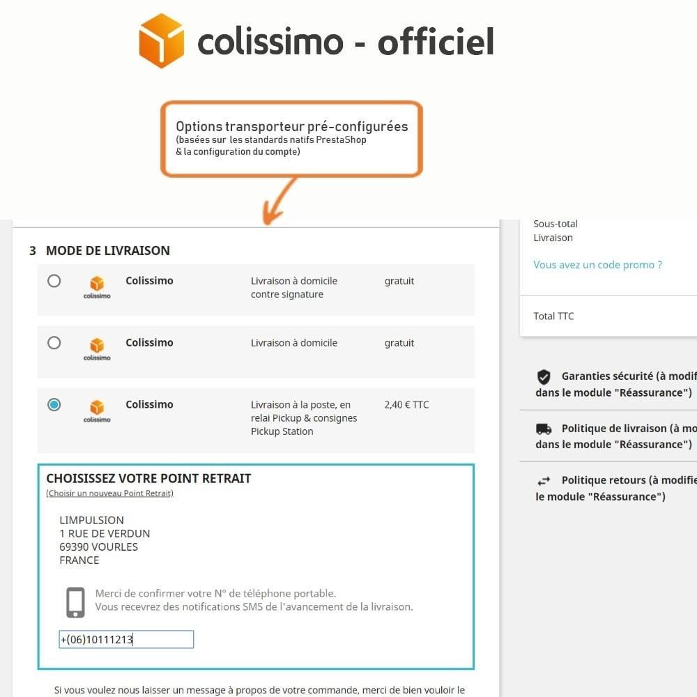 module - Transporteurs - Colissimo - Officiel : vos expéditions avec Colissimo - 7