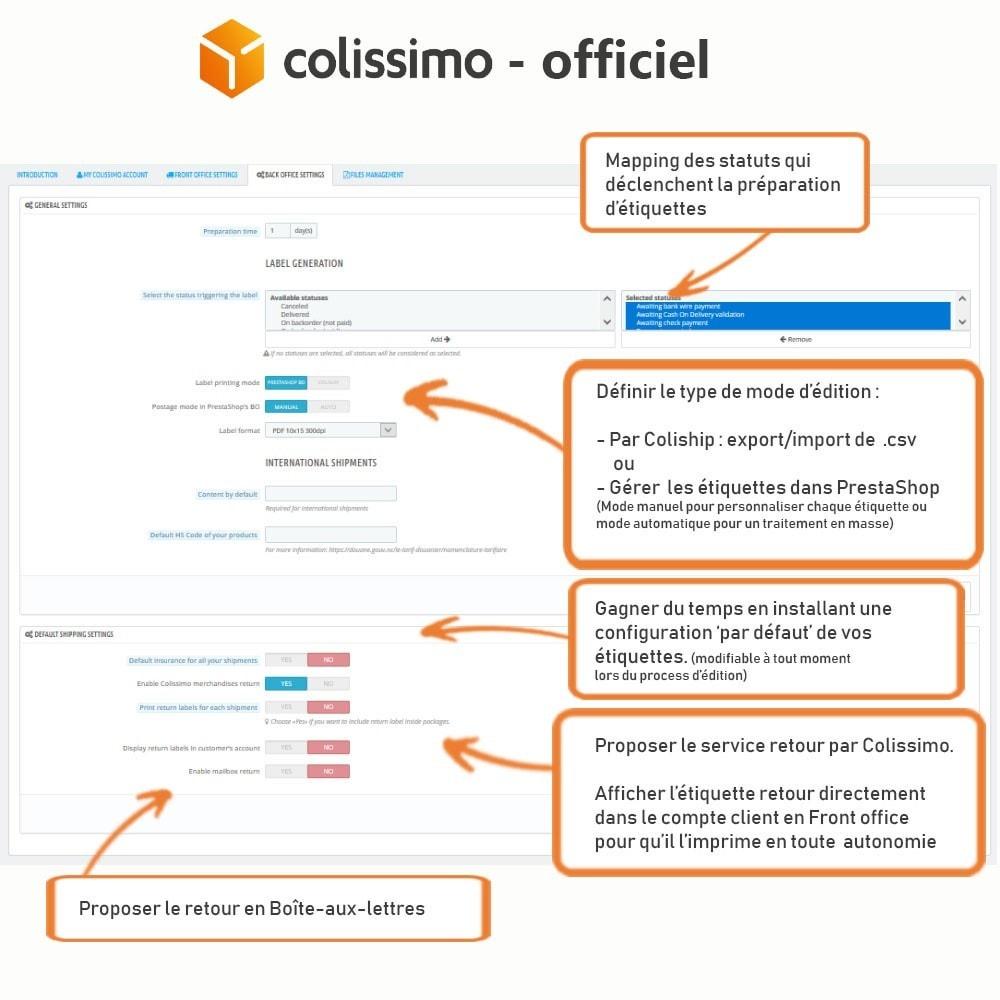 module - Transporteurs - Colissimo - Officiel : vos expéditions avec Colissimo - 8