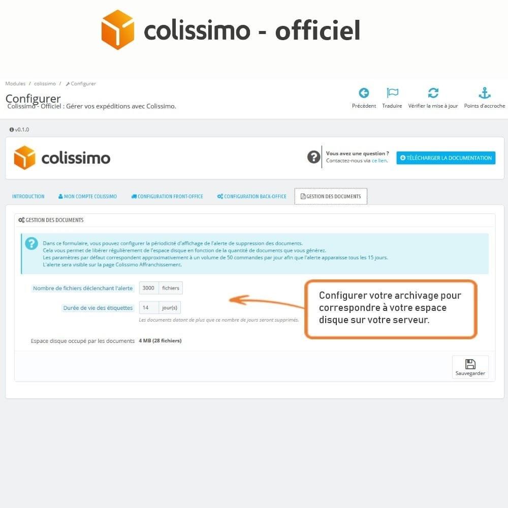 module - Transporteurs - Colissimo - Officiel : vos expéditions avec Colissimo - 9