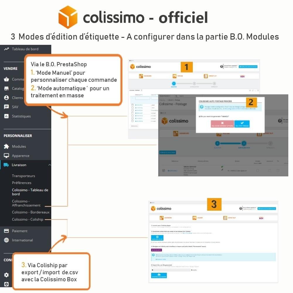 module - Transporteurs - Colissimo - Officiel : vos expéditions avec Colissimo - 11
