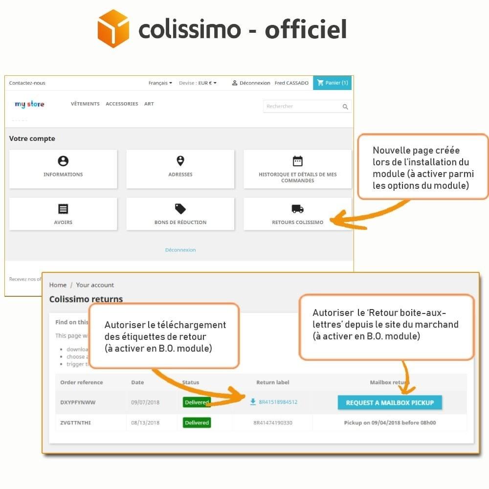 module - Transporteurs - Colissimo - Officiel : vos expéditions avec Colissimo - 20