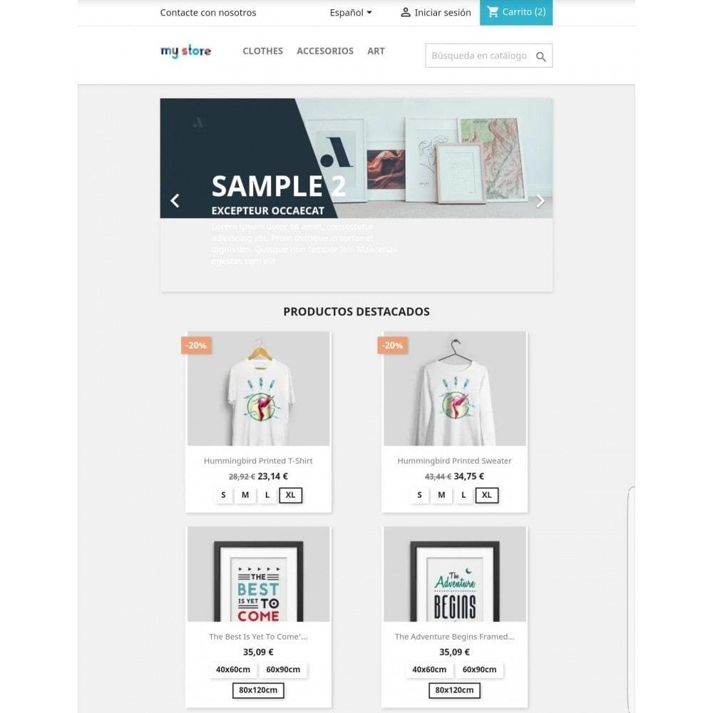 module - Combinaciones y Personalización de productos - Mostrar atributos / combinaciones en lista de productos - 1