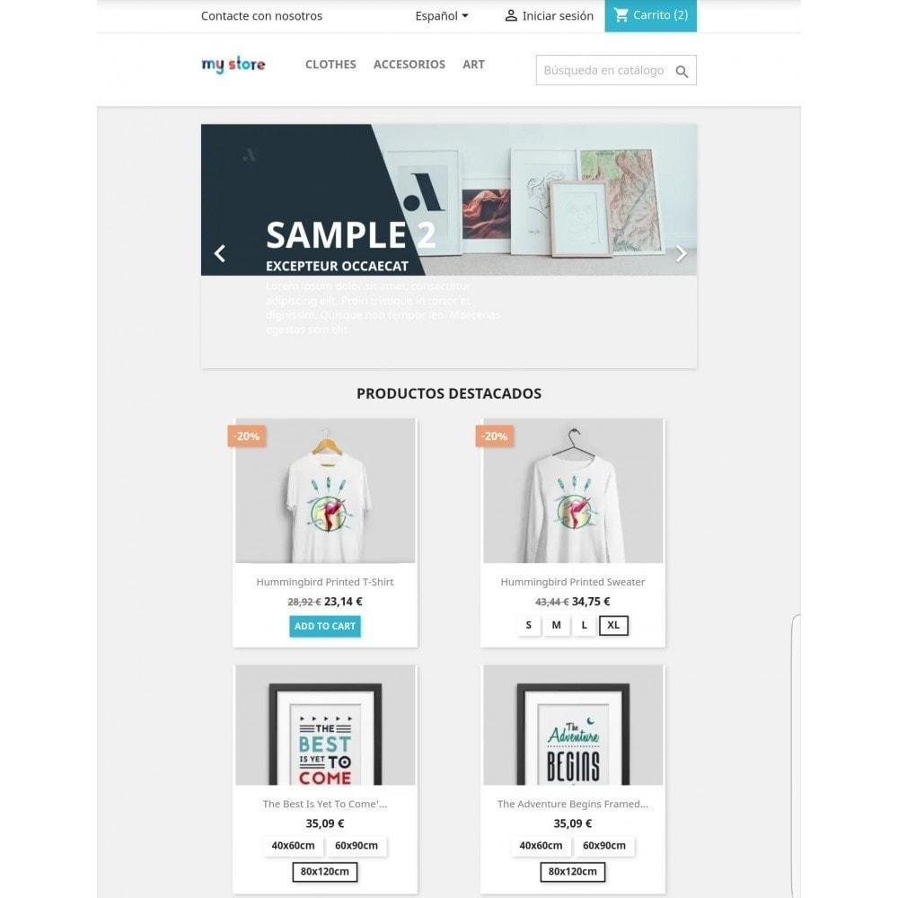 module - Combinaciones y Personalización de productos - Mostrar atributos / combinaciones en lista de productos - 2