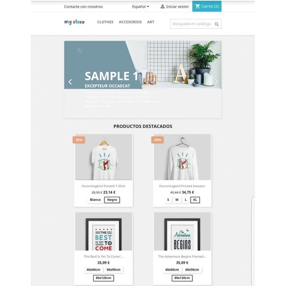 module - Combinaciones y Personalización de productos - Mostrar atributos / combinaciones en lista de productos - 3