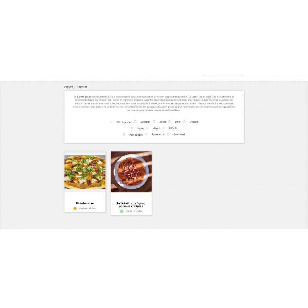 module - Programa de Fidelidad - Recipe configurator with your products - 2