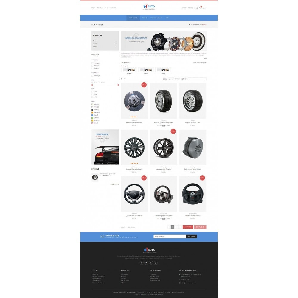 theme - Coches y Motos - Auto Parts Store - 5