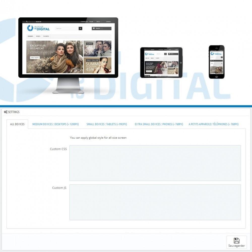 module - Personalizzazione pagine - Personalizzazione CSS e JS - 1