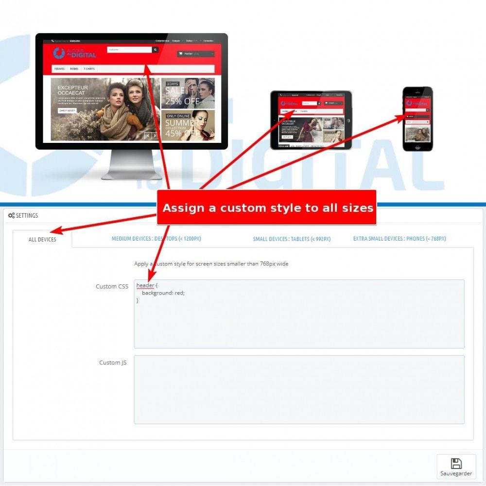 module - Personalizzazione pagine - Personalizzazione CSS e JS - 2