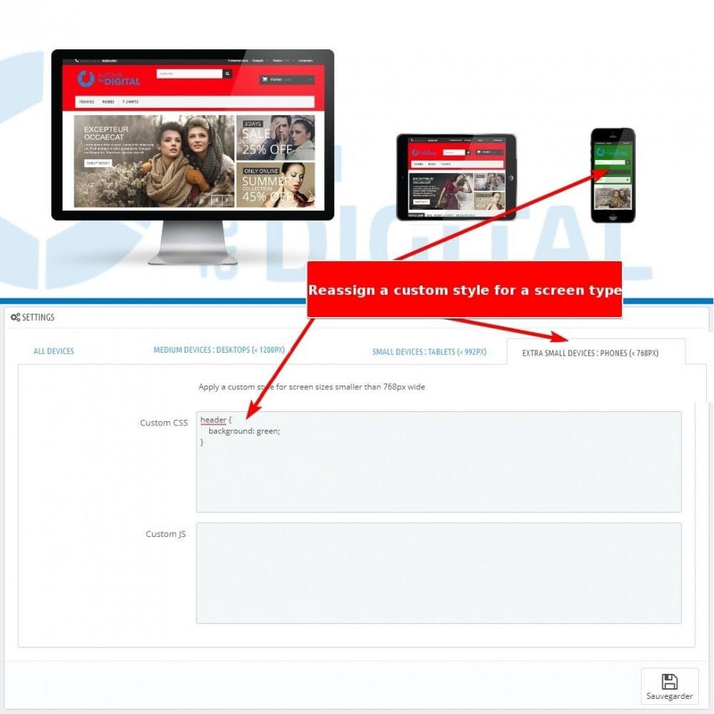 module - Personalizzazione pagine - Personalizzazione CSS e JS - 3