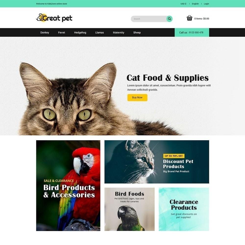 theme - Животные и домашние питомцы - Pet - магазин для животных - 3