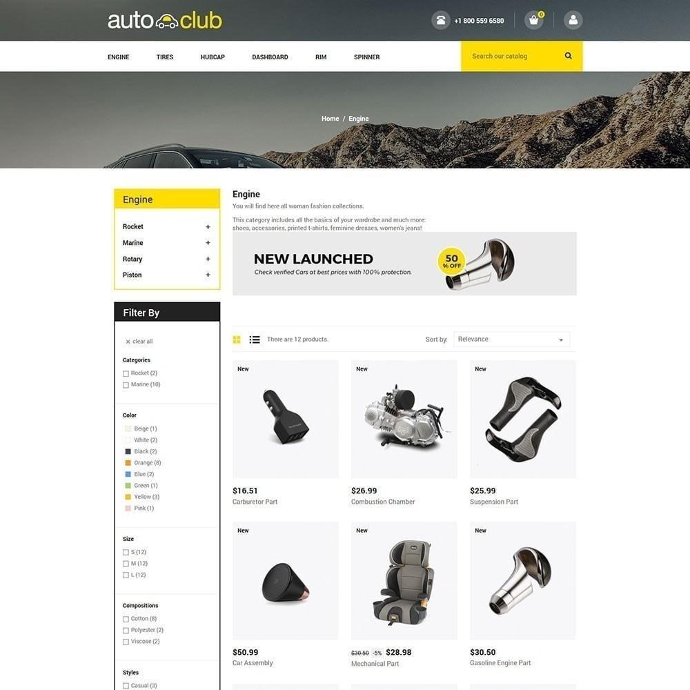 theme - Auto & Moto - Pièce auto - Magasin d'outils - 4