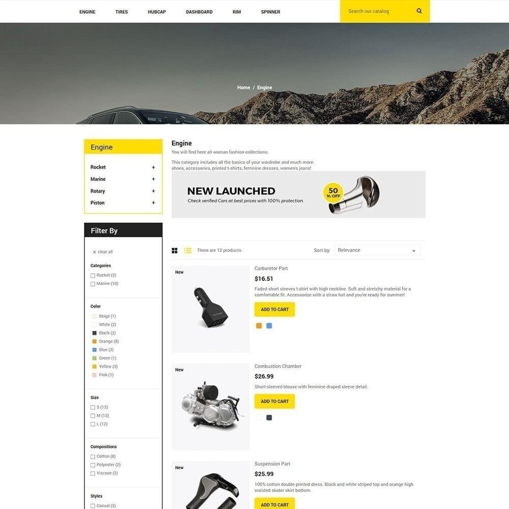 theme - Coches y Motos - Pieza de auto - Tienda de herramientas - 4