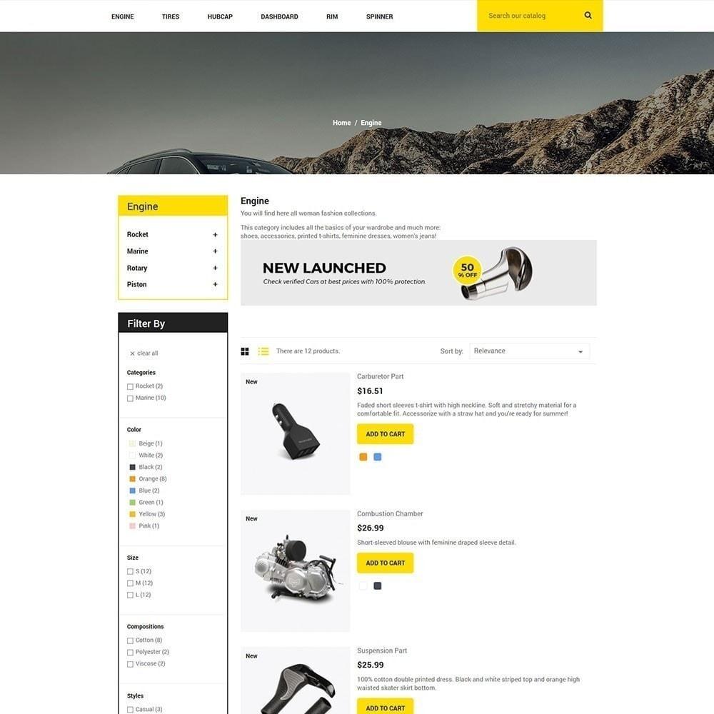 theme - Auto & Moto - Parte automatica - Tool Store - 5