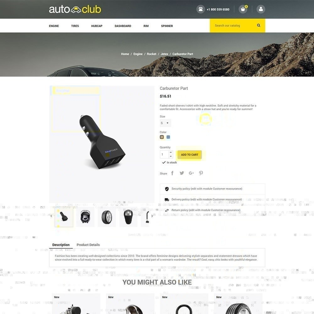 theme - Samochody - Auto Part - Tool Store - 4