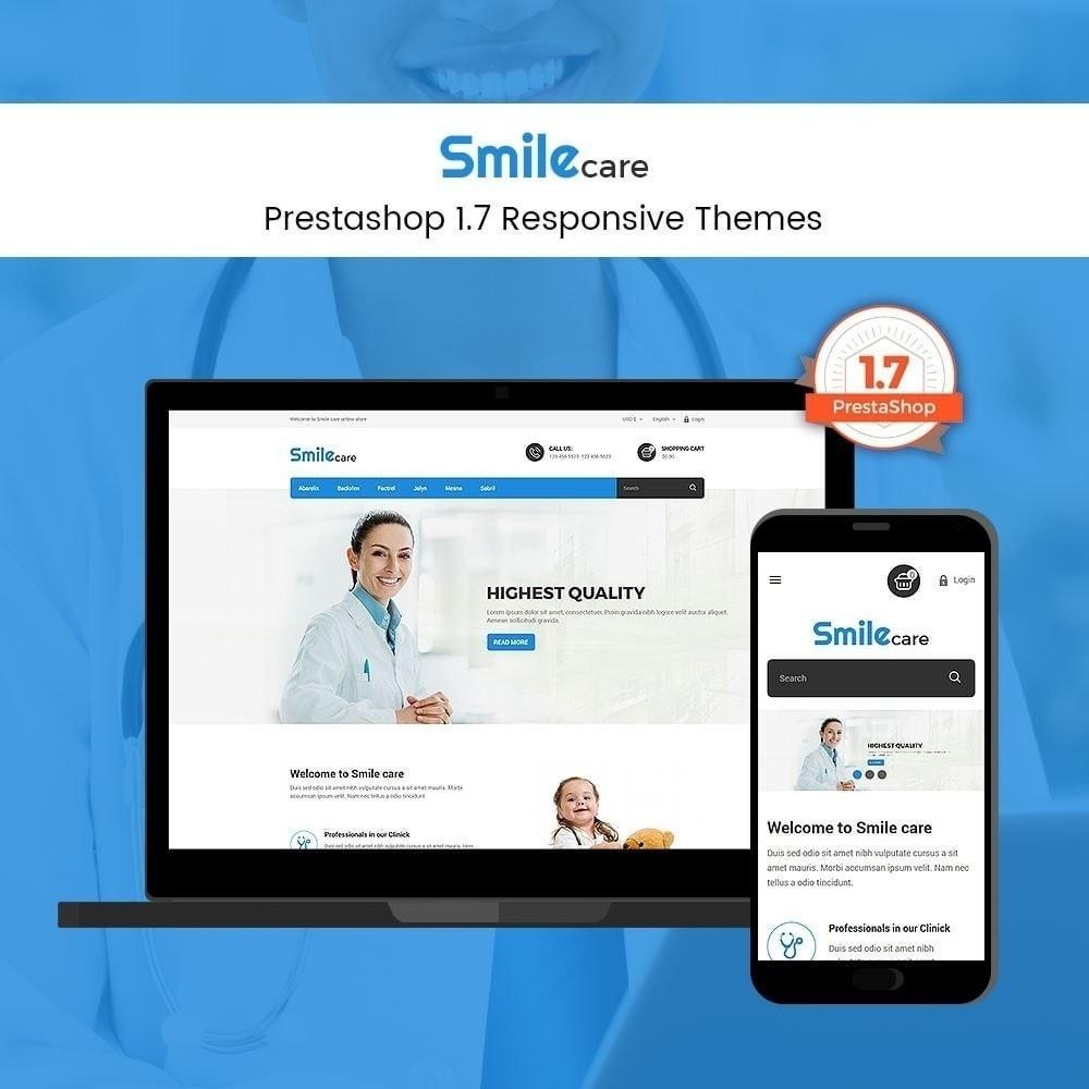 theme - Santé & Beauté - Smilecare - Magasin de produits de santé Beauty Beauty - 1
