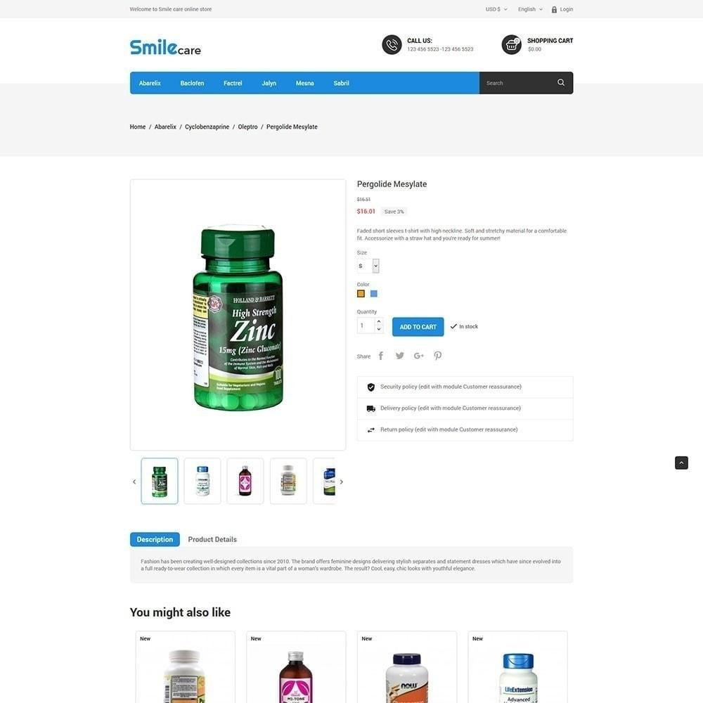 theme - Salute & Bellezza - Smilecare - farmacia di bellezza di salute - 5
