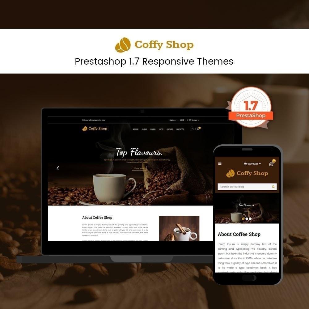 theme - Alimentation & Restauration - Magasin de café - 2