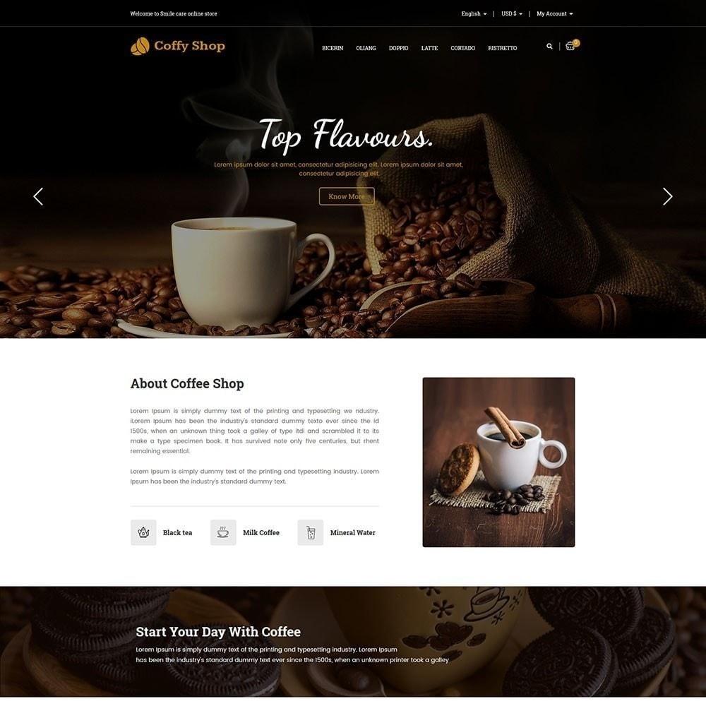 theme - Eten & Restaurant - Koffie winkel - 3