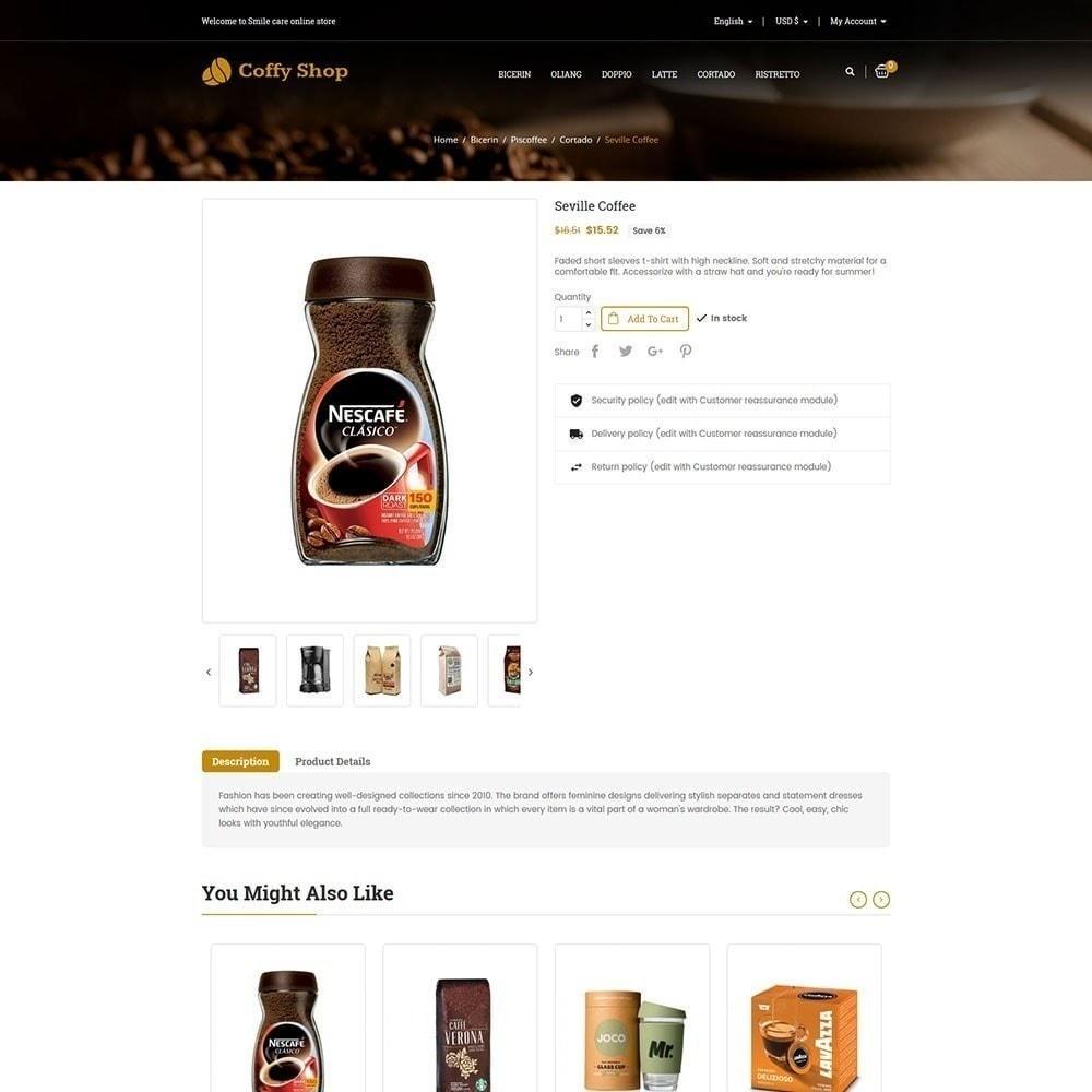 theme - Eten & Restaurant - Koffie winkel - 6