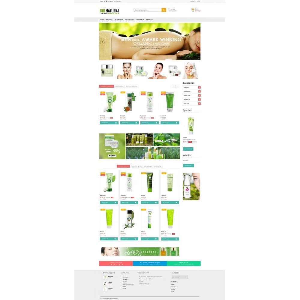 theme - Salute & Bellezza - Ultra Bio Naturals Premium - 4
