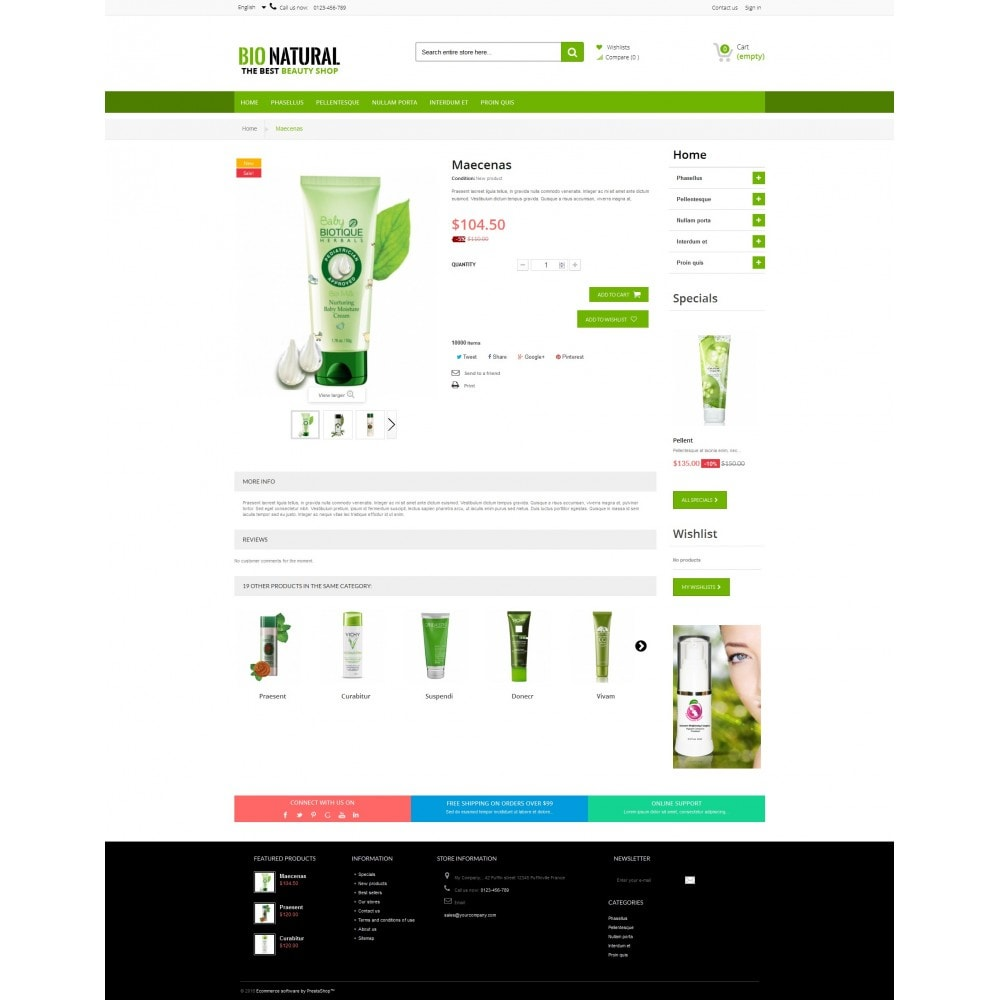 theme - Salute & Bellezza - Ultra Bio Naturals Premium - 8