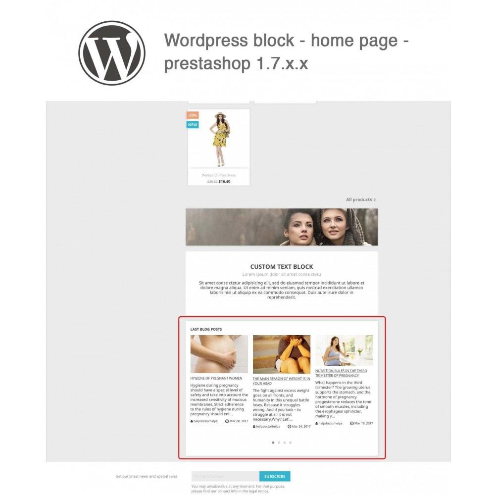 module - Блог, форумов и новостей - Block Last Wordpress Blog Posts - 2