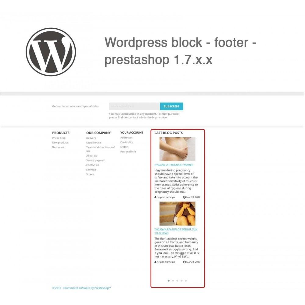 module - Блог, форумов и новостей - Block Last Wordpress Blog Posts - 3