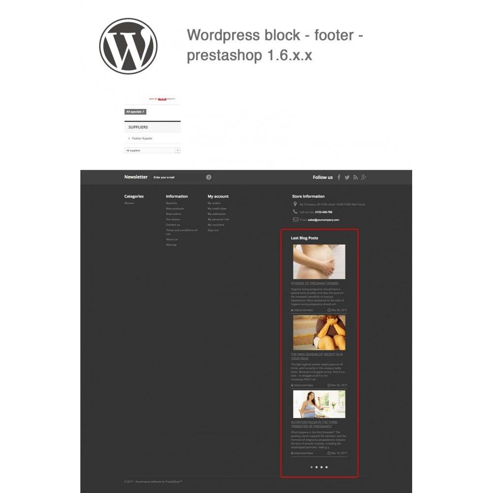 module - Блог, форумов и новостей - Block Last Wordpress Blog Posts - 8