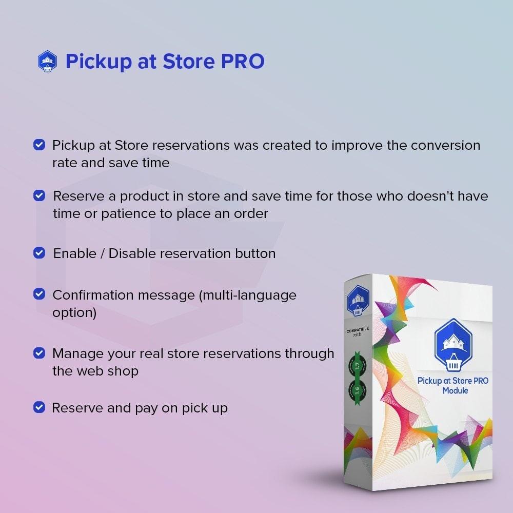module - Punto de entrega y Recogida en tienda - Recoger en la tienda PRO - 1