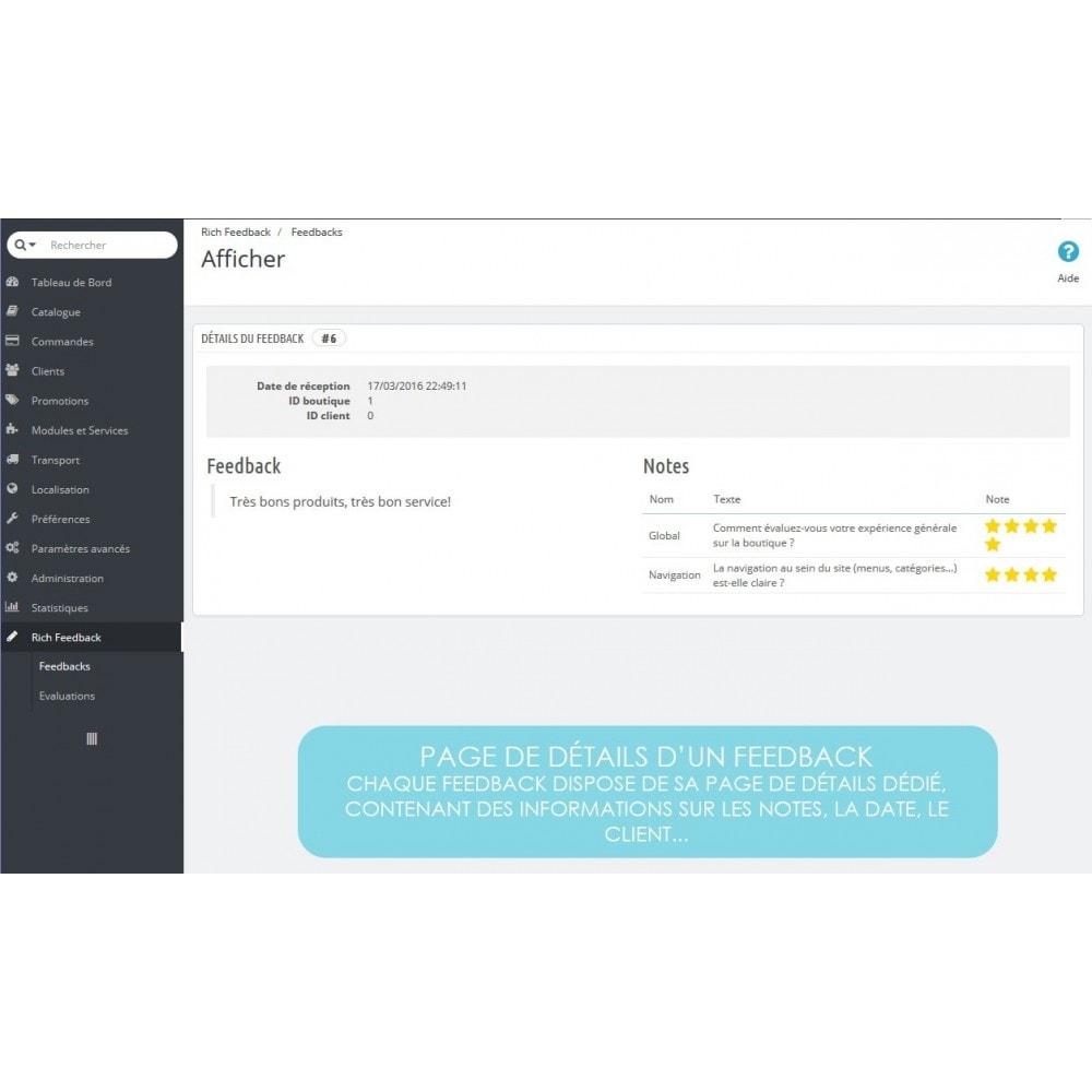 module - Avis clients - Rich Feedback : avis et satisfaction clients - 4