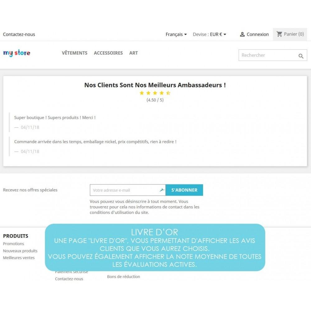 module - Avis clients - Rich Feedback : avis et satisfaction clients - 7