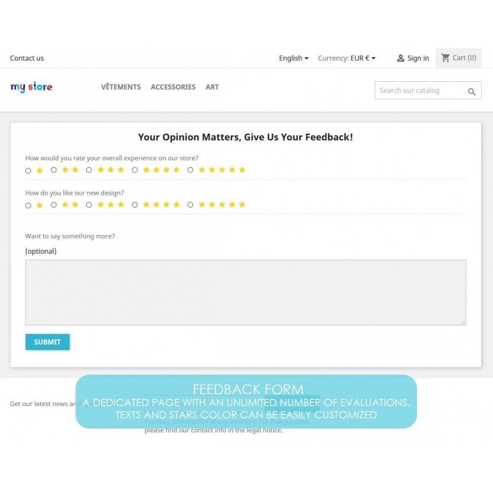module - Opinie klientów - Rich Feedback : customers satisfaction and opinion - 4
