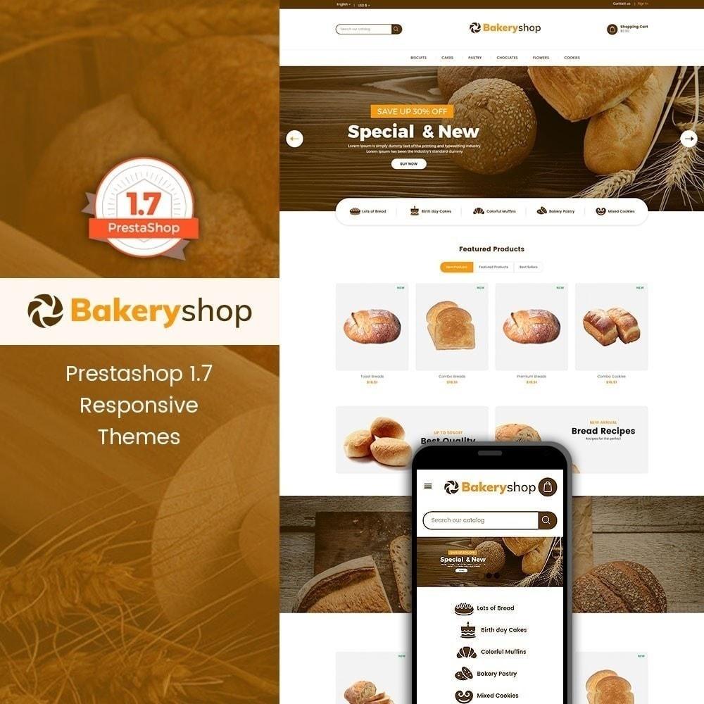theme - Lebensmittel & Restaurants - Bäckerei-Lebensmittelgeschäft - 2