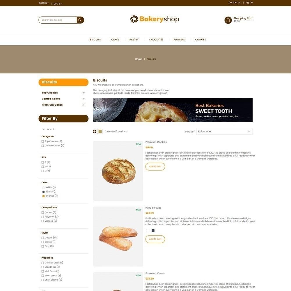 theme - Alimentos & Restaurantes - Loja de comida de padaria - 5
