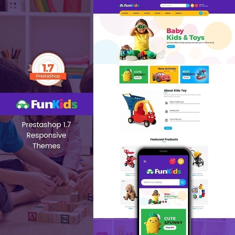 theme - Niños y Juguetes - Fun Kids - Juguetería - 1